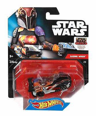 Sabine Wren - Star Wars Character Cars - Hot Wheels