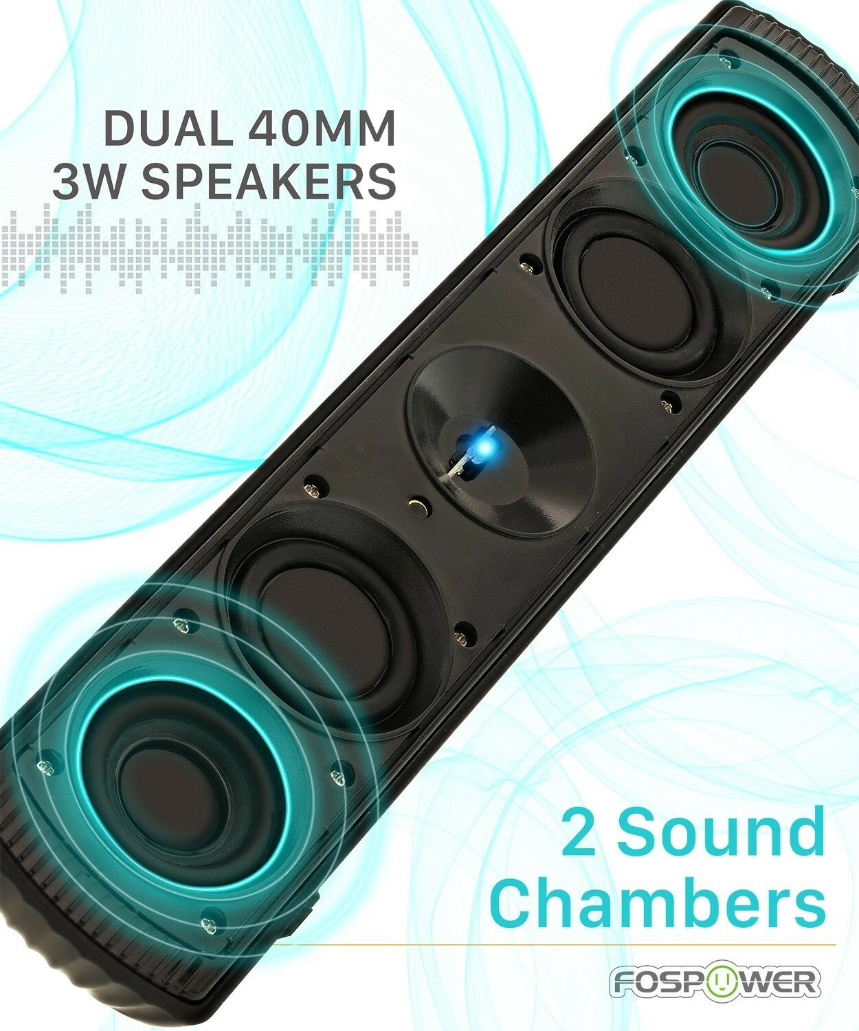 Rechargeable Wireless Bluetooth Portable Speaker Bass Aux USB Stereo FM Radio