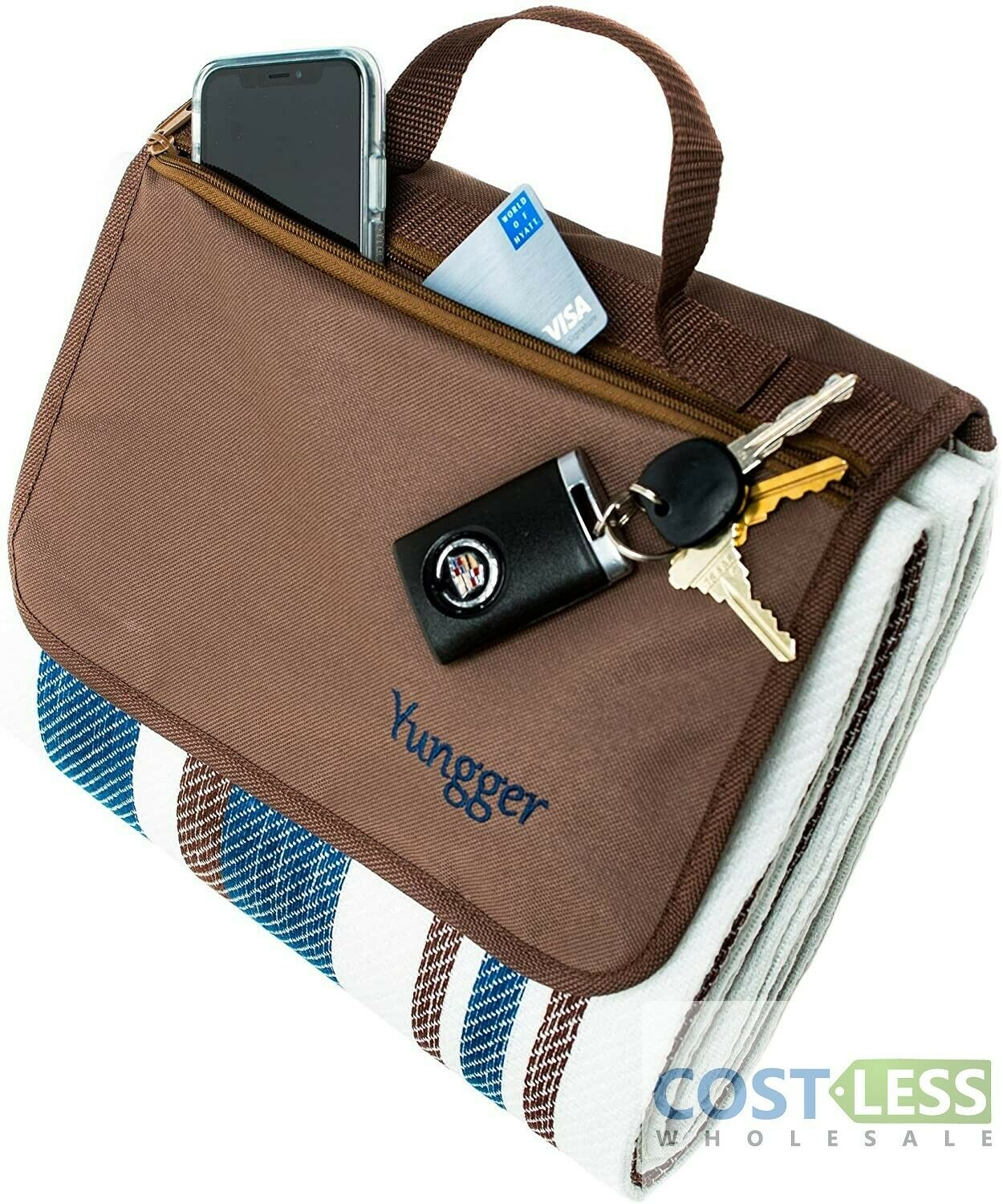 YUNGGER Extra Large Picnic Blanket-Camping Beach Outdoor-Mat