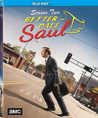 Better Call Saul Complete Series 2 Blu Ray All Episode Second Season UK NEW (Best Sci Fi Novel Series)