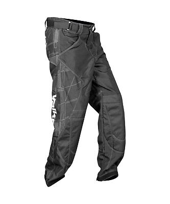 Valken Fate Exo Paintball Pants Padded Protection Black NEW 2XL XX Large 2X