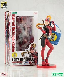 MARVEL COMICS - KOTOBUKIYA BISHOUJO SDCC2016 Lady Deadpool South Melbourne Port Phillip Preview