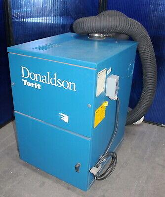 323 Cfm Donaldson Torit 60 Qs Dust Collector Cabinet