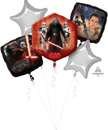 Disney+Star+Wars+The+Force+Awakens+5pc+Foil+Balloon+Bouquet