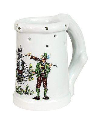 Krug Bierkrug Gaudikrug-Fixierung Mini 0,1 Liter NEU (11603)