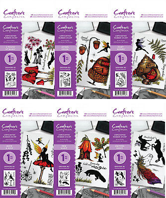 Crafters Companion - Magical Fantasy A6 Unmounted Stamps by Donna Ratcliff