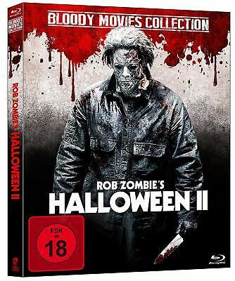 Rob Zombie - HALLOWEEN 2 II Remake 2009 MICHAEL MYERS Directors Cut BLU-RAY Neu