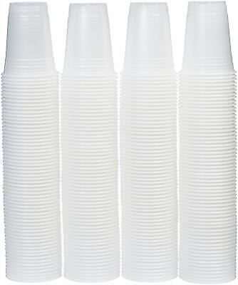 16oz Disposable translucent Plastic Cups Large Lot, 240 Pack Party - 16 Oz Cups