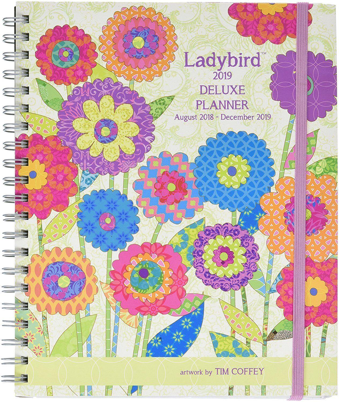 LADYBIRD - 2019 DELUXE PLANNING CALENDAR - LANG PLANNER 6102