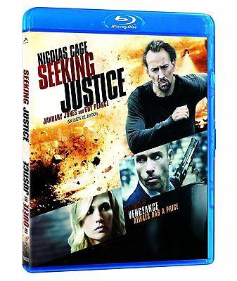 Seeking Justice  Nicolas Cage   New Blu Ray