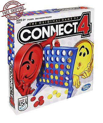 Connect 4 Board Game Kids Children Fun Educational Original Disc Dropping USA](Kids Fun Games)