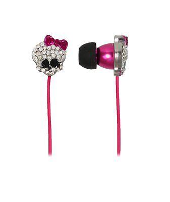 Monster High  Skullet Earbuds Kopfhörer Ohrhörer  Sakar - 11748