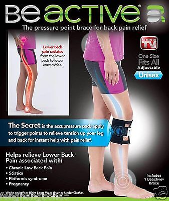 2017  New Beactive Pressure Point Brace For Back Pain As Seen On Tv   Be Active