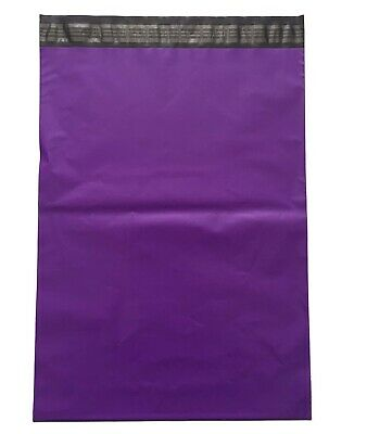 50 x Strong Large Purple Postal Mailing Bags Sacks 10x14