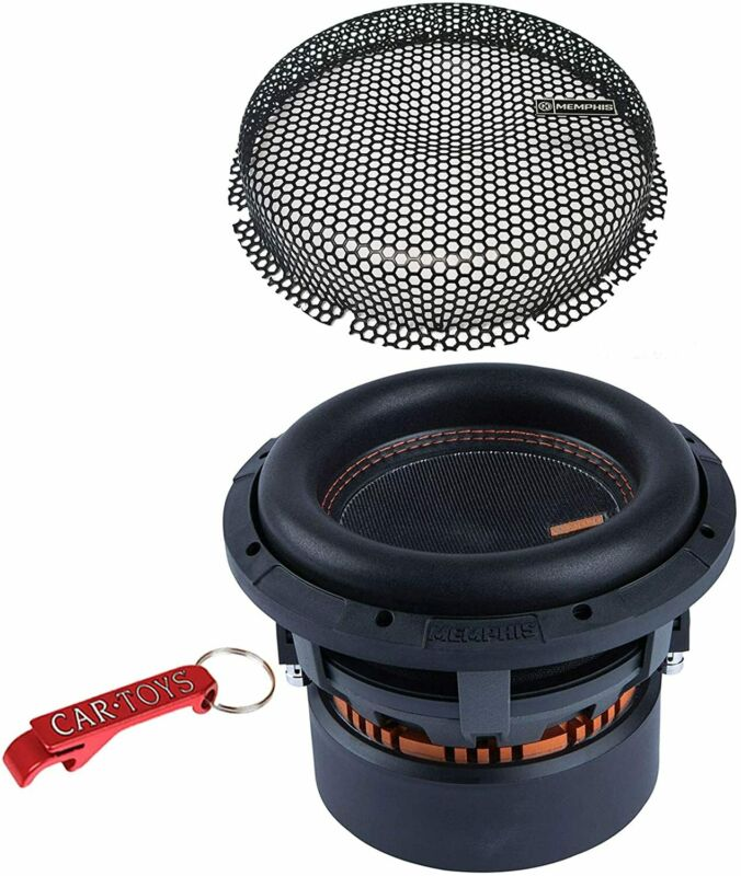 """Memphis Audio MJM844 Mojo Series 8"""" Car Subwoofer with Grille, 900W RMS, 4-Ohm"""