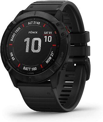 Garmin Fēnix 6X PRO, 51mm Reloj GPS multideporte, Mapas, Música, Frec. Cardiaca