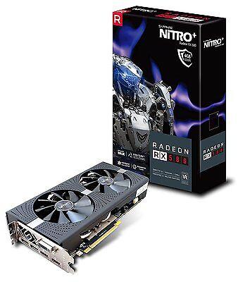 Sapphire NITRO+ Radeon RX 580 4GDS 4GB GDDR5 Video Graphics Cards 11265-07-20G