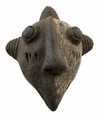 Mask African Pasport Miniature Divination Fetish Zoomorphic 6476 B4MB