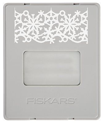 Fiskars AdvantEdge Border Punch Refill Cartridge, Winter Frost (FSK101720-1000)](Winter Borders)
