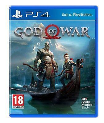 VIDEOGIOCO GOD OF WAR PS4 ITALIANO SONY PLAYSTATION 4 GIOCO PAL NUOVO SIGILLATO