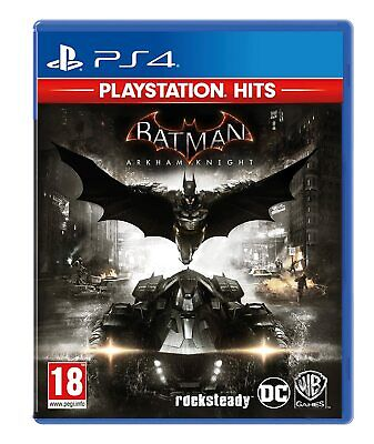 Batman Arkham Knight PS4 Brand New Factory Sealed PlsyStation 4