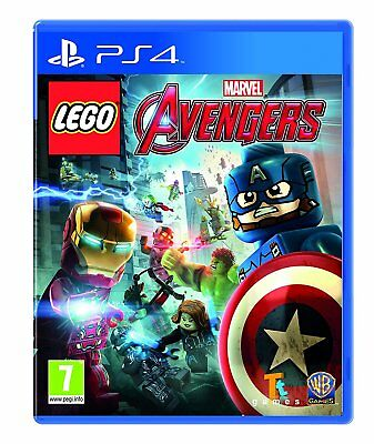 LEGO Marvel Avengers PS4 Sony PlayStation 4 Brand New Factory Sealed