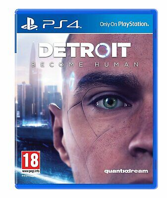 Detroit Become Human - PS4 Playstation 4 - NEU OVP - Englisch