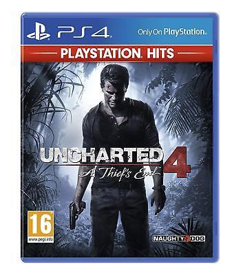 Uncharted 4: A Thief's End (PS4 PlayStation 4) (NEU & OVP) (Blitzversand) segunda mano  Embacar hacia Argentina