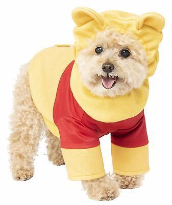 Winnie the Pooh Bear Disney Classic Fancy Dress Halloween Dog Cat Pet Costume