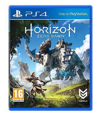 HORIZON ZERO DAWN PS4 GIOCO PLAYSTATION 4 VIDEOGIOCO ITALIANO NUOVO PROMO ORIZON