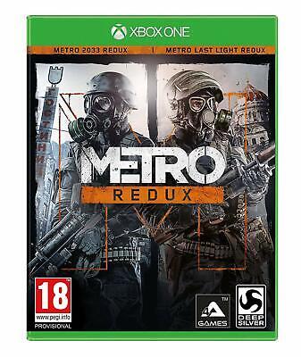 Metro Redux (Xbox One) MINT - QUICK DISPATCH - Super FAST & QUICK Delivery FREE segunda mano  Embacar hacia Spain