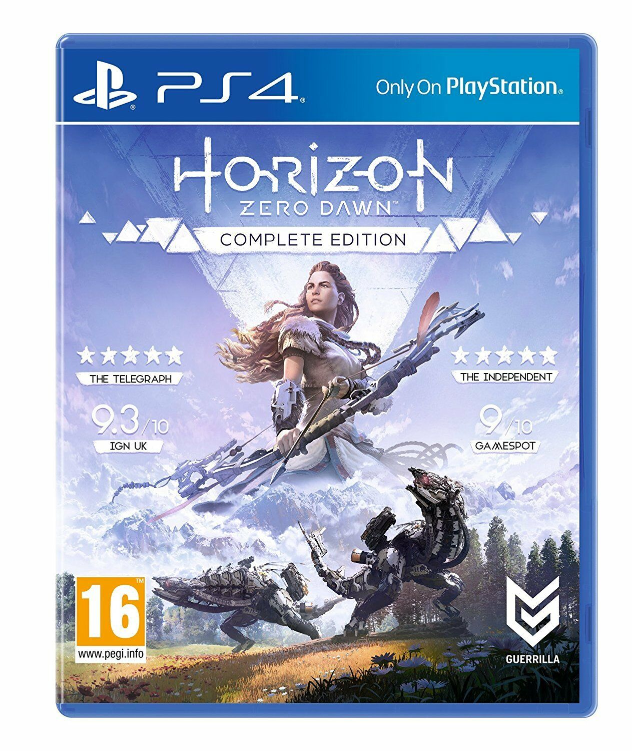 Horizon Zero Dawn Complete Edition - PS4 Playstation 4 Spiel - NEU OVP