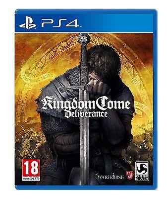 Kingdom Come Deliverance (PS4) New & Sealed UK PAL Fast Free UK P&P