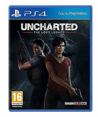 Uncharted  The Lost Legacy  Sony Playstation 4  2017   Ps4 Console Game  New