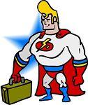 Computer-Superman