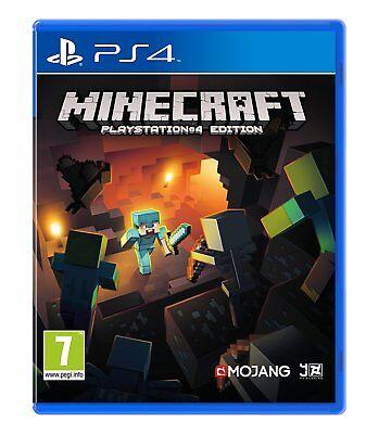 Minecraft (PS4 PlayStation 4) (NEU & OVP) (Blitzversand)