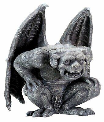 Roaring Gargoyle Statue Medieval Statuette Figurine Sculpture Decoration New