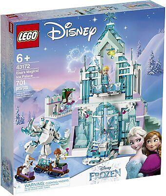LEGO® 43172 Disney's Frozen 2 Princess Elsa's Magical Ice Palace for Girls 701Pc