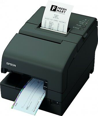 Epson Tm-h6000iv Usbserial Multifunction Pos Printer With Micr Endorser