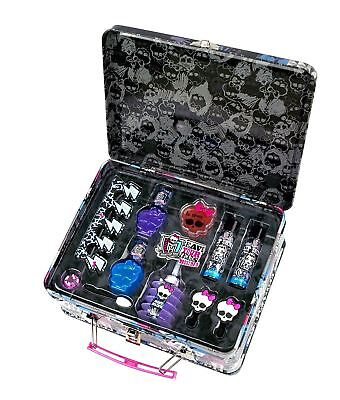 Monster High Too Ghoul For School Cosmetic Lunchbox Tin Kids Make Up Set
