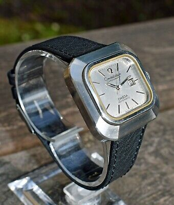 Omega Constellation Vintage 1970's Automatic Watch - Chronometer - Square Dial