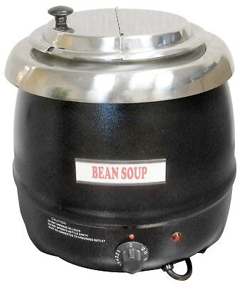 Winco Commercial Electric Soup Kettle Warmer - 10.5 Quart