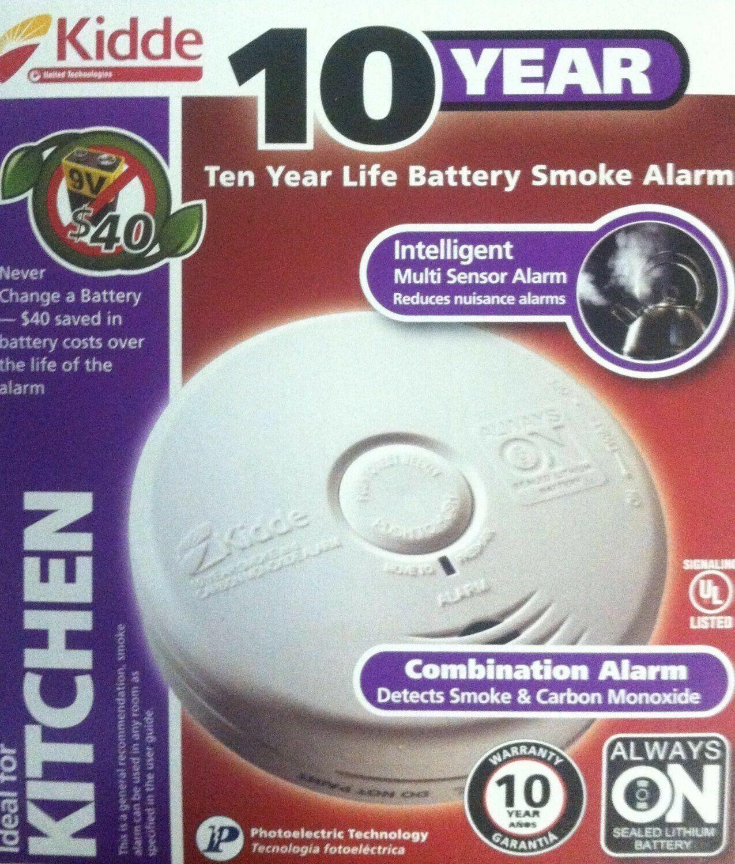 Kidde P3010K-CO Battery-Operated Combination Carbon Monoxide