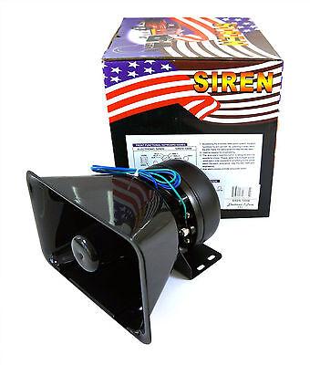 100w car horn siren pa system 12v loud megaphone mic motorcyle rv truck ebay