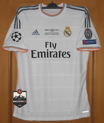 Maglia Real Madrid Finale Champions League 2014 - Calcio Retro Vintage Jersey