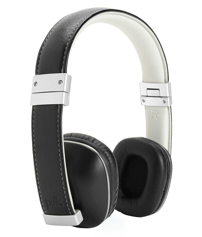 Polk Audio HINGE Premium Compact On-Ear Headphones w/ In-Lin