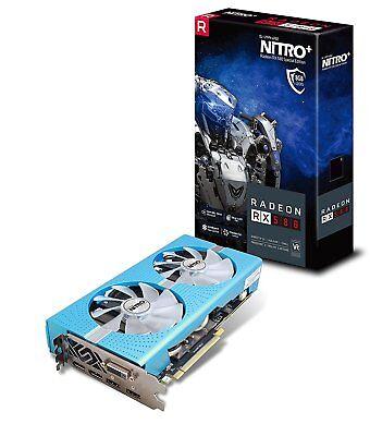 Sapphire NITRO+ AMD Radeon RX 580 8GB Special Edition Graphics Card 11265-21-20G