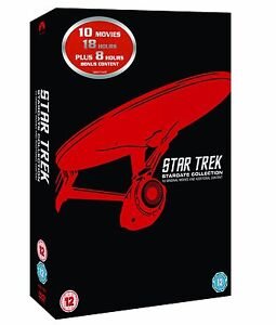 STAR TREK: Films 1-10 Remastered Stardate Collection the Movies SEALED/NEW