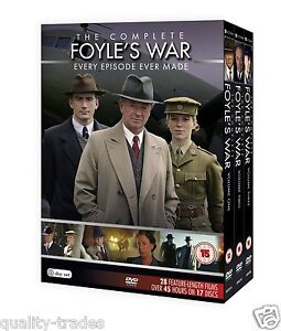 ❏ Foyle's War Series 1 - 8 DVD Complete Collection ❏ Foyles 1 2 3 4 5 6 7 8