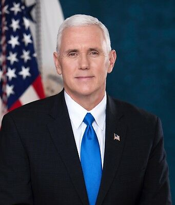 Vice President Mike Pence   8X10 Photograph   High Quality   Free Shipping